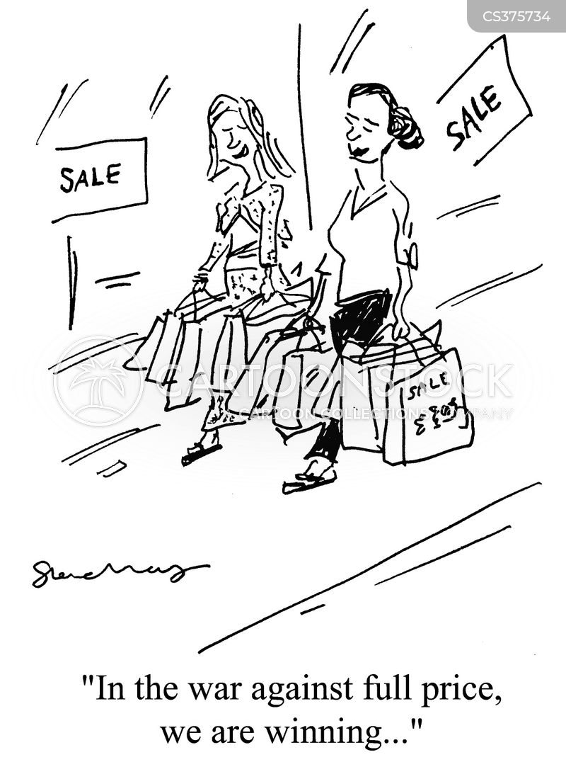 reduced price cartoon
