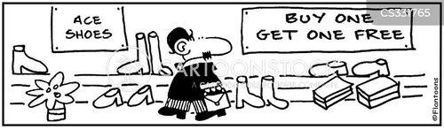 bunion cartoon