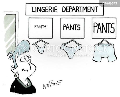 undergarments cartoon