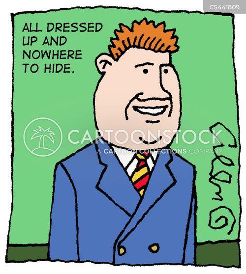formal clothes cartoon