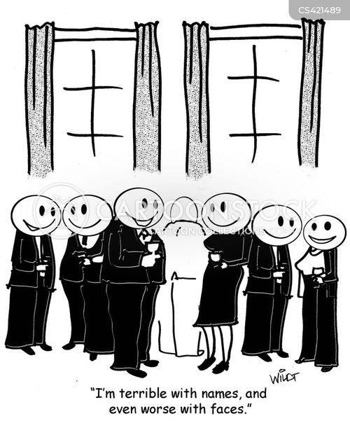 familiar faces cartoon