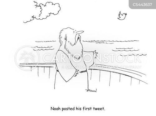 the great flood cartoon