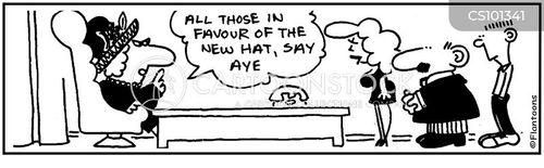 say aye cartoon