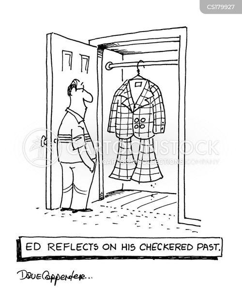 chequer cartoon