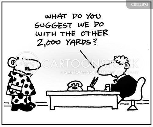 business attires cartoon