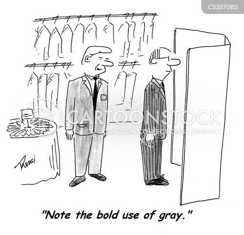 gray cartoon