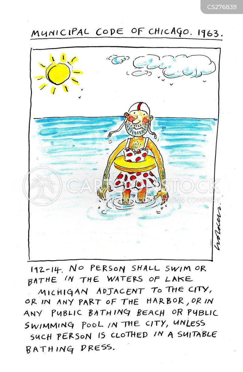 swim wear cartoon