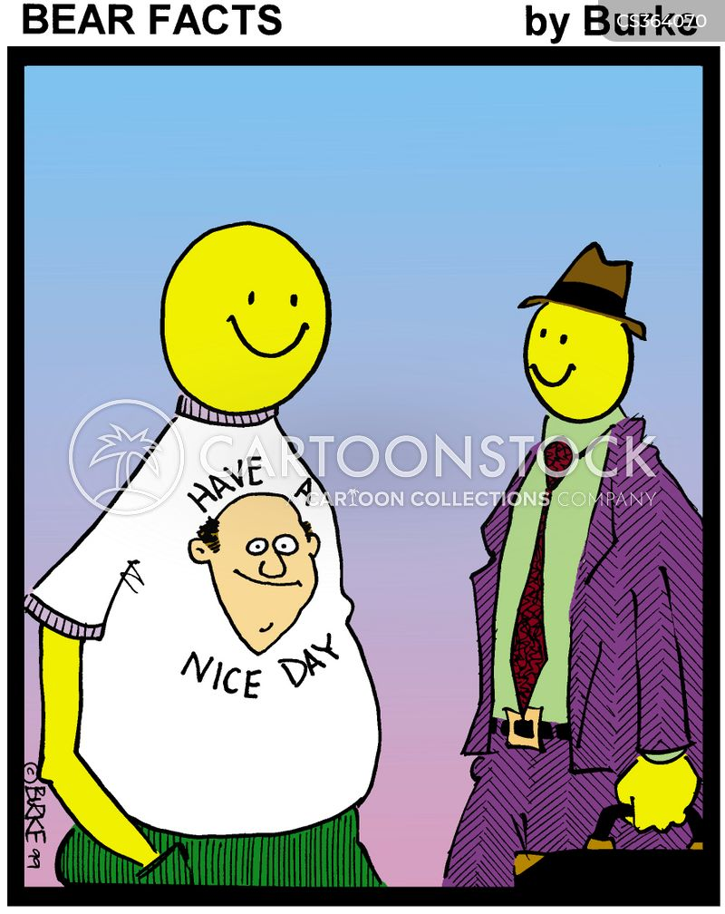 have a nice day cartoon