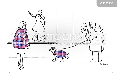 tartan cartoon