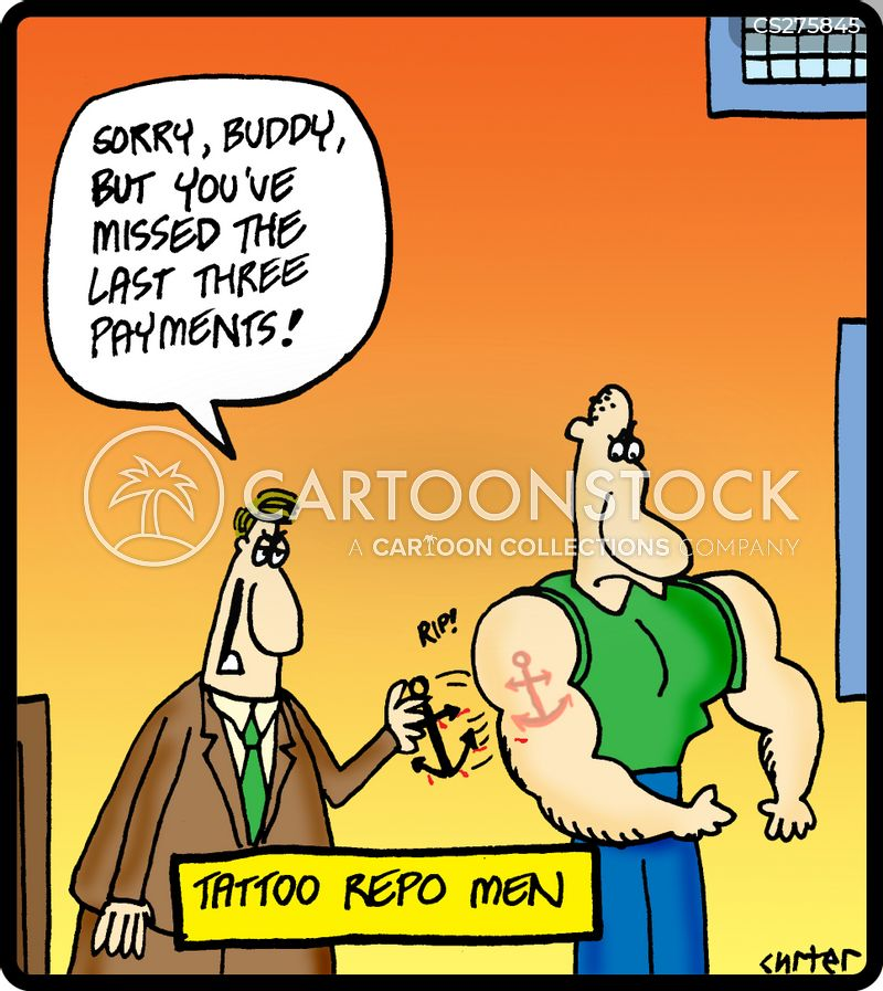 repo man cartoon