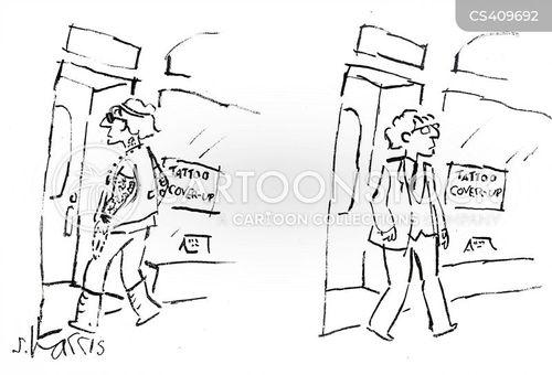 fashion tips cartoon