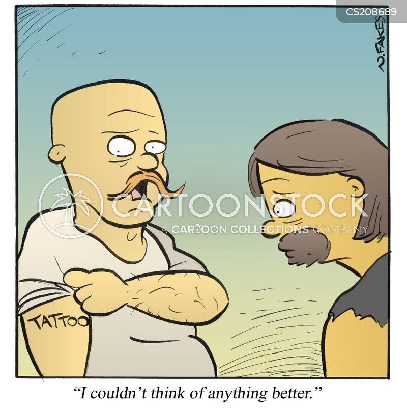 tattooists cartoon