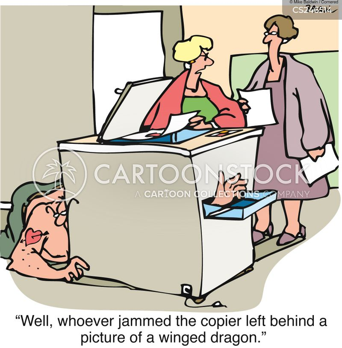jammed cartoon