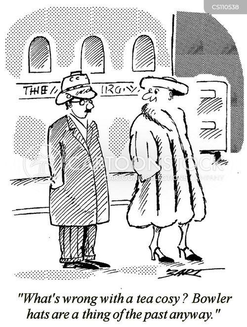 bowler hats cartoon