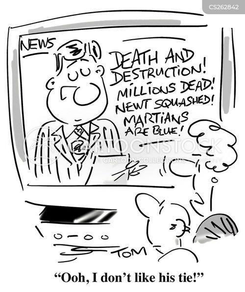 newsreaders cartoon