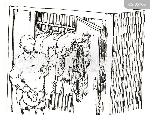 hangers cartoon