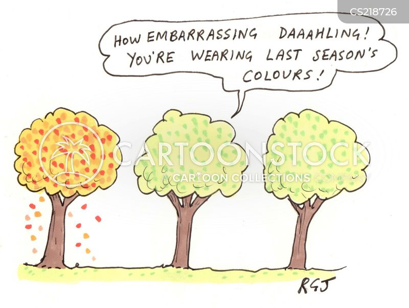 Last Season's Colours Cartoons And Comics - Funny Pictures From CartoonStock