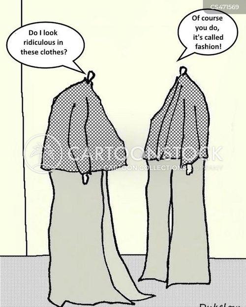 high fashion cartoon