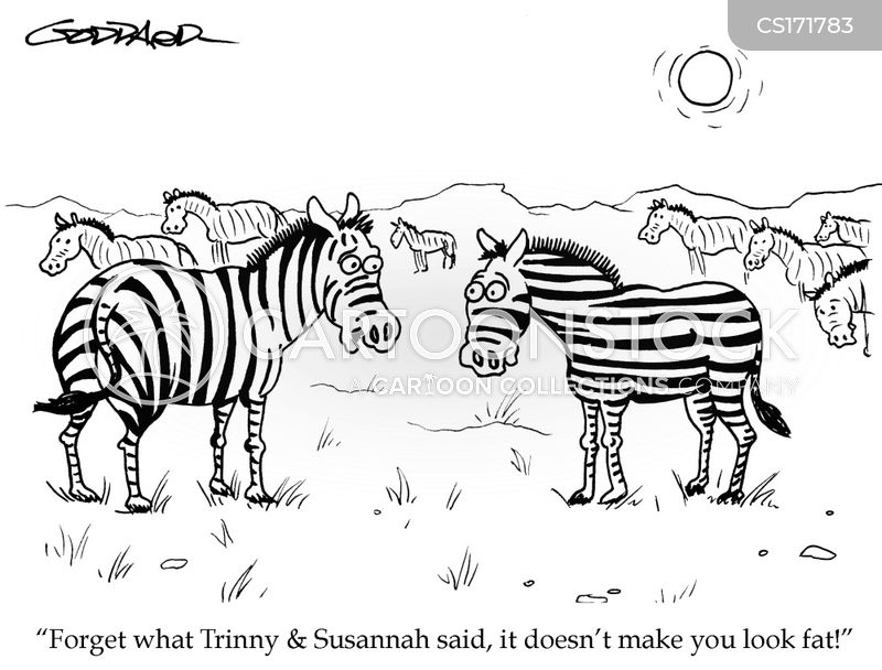 stripes cartoon