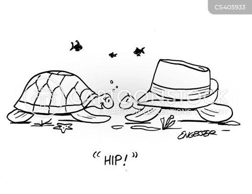 trilby hats cartoon