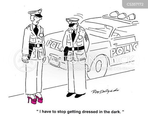 in the dark cartoon