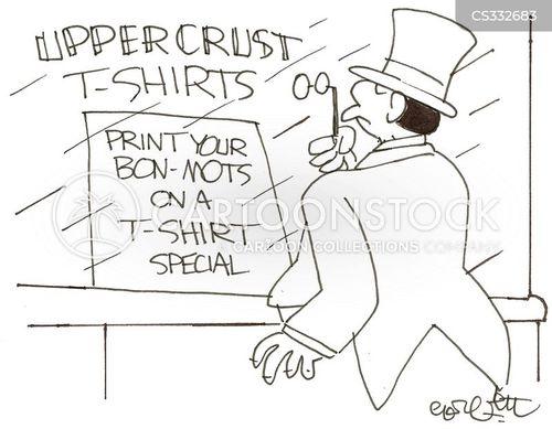upper crust cartoon