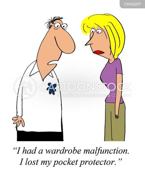 malfunctioning cartoon
