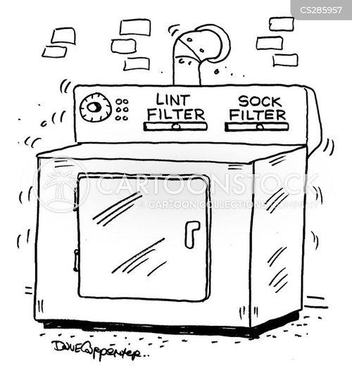 washing clothes cartoon