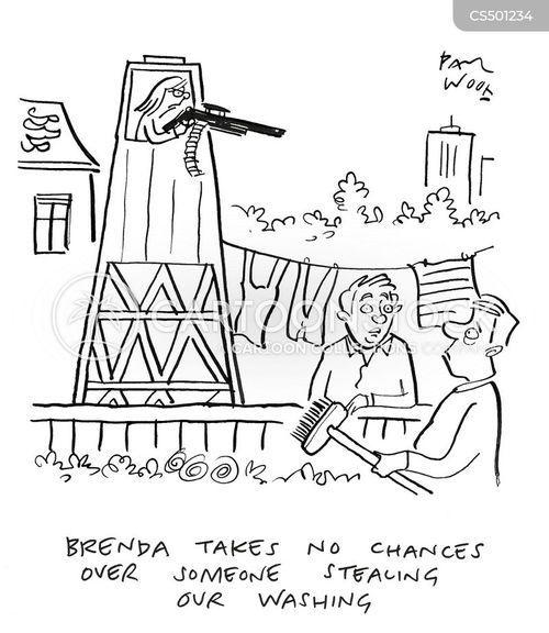 guard towers cartoon