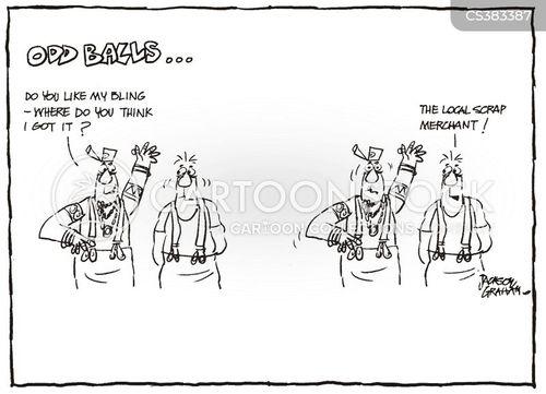 scrap metal merchant cartoon