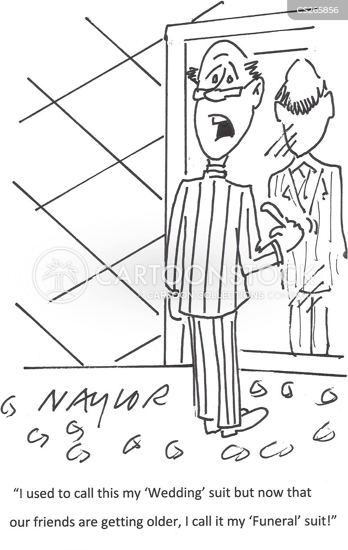wedding suits cartoon