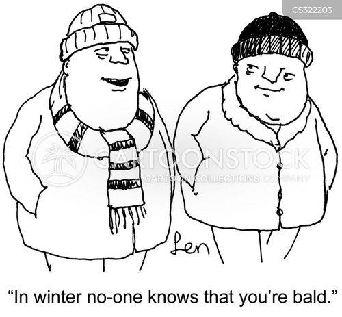keep warm cartoon