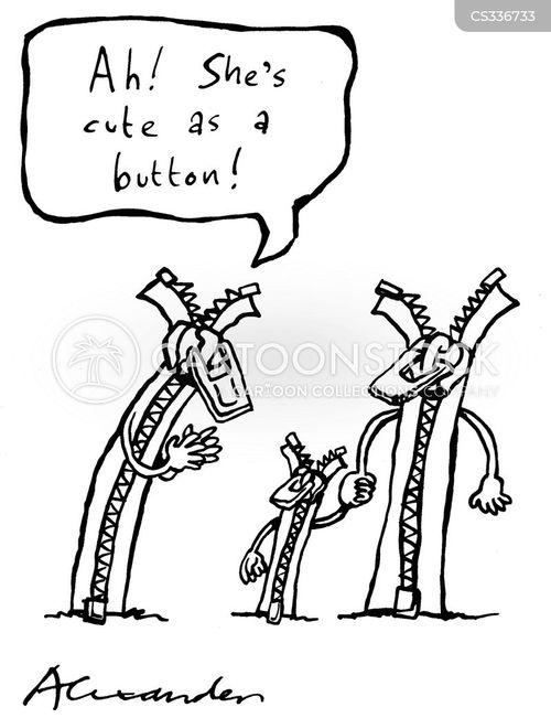 fastening cartoon