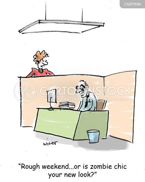 chics cartoon
