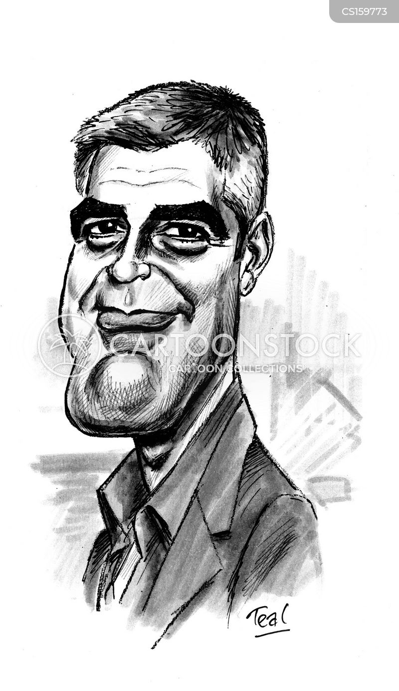 clooney cartoon