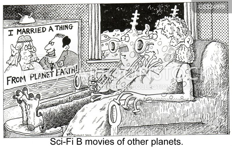 other planet cartoon