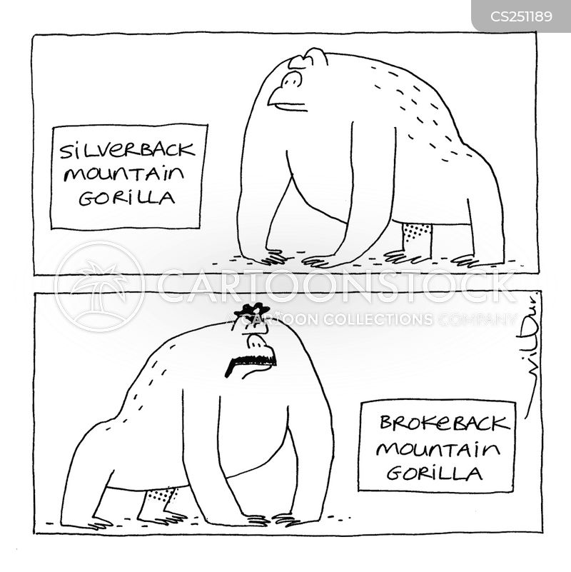 silverback cartoon