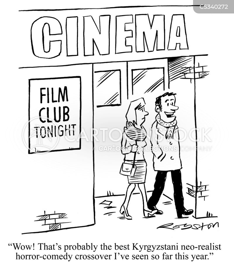 film clubs cartoon