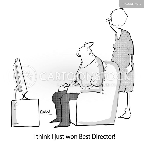 film award cartoon