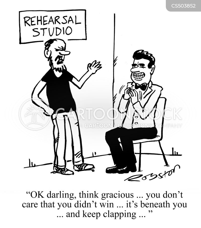 acting classes cartoon
