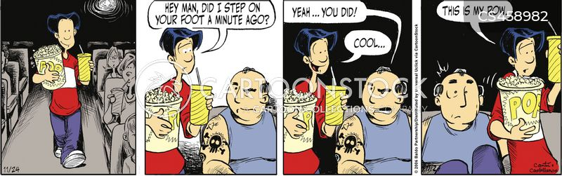 Move Theater Cartoons and Comics - funny pictures from