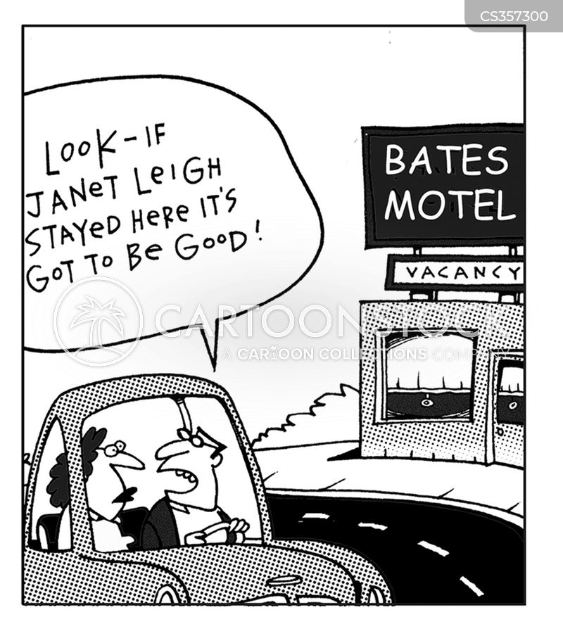 the bates motel cartoon