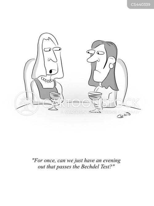 female companionship cartoon