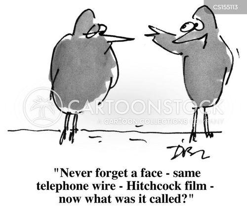 hitchcock cartoon