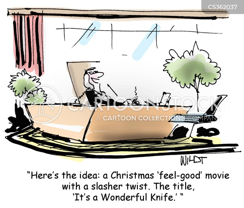 film pitches cartoon