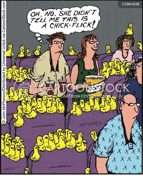 chick flicks cartoon