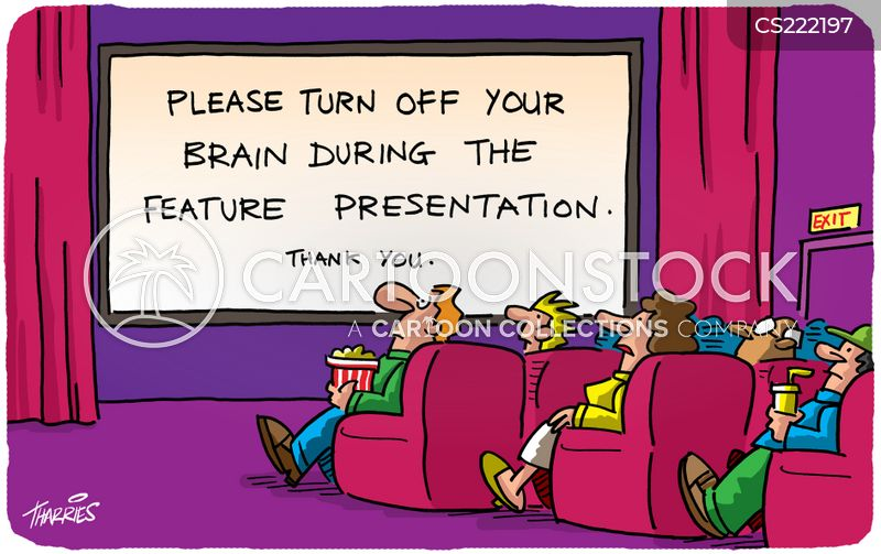 big screen cartoon