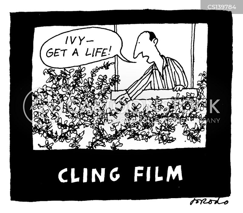 cling film cartoon
