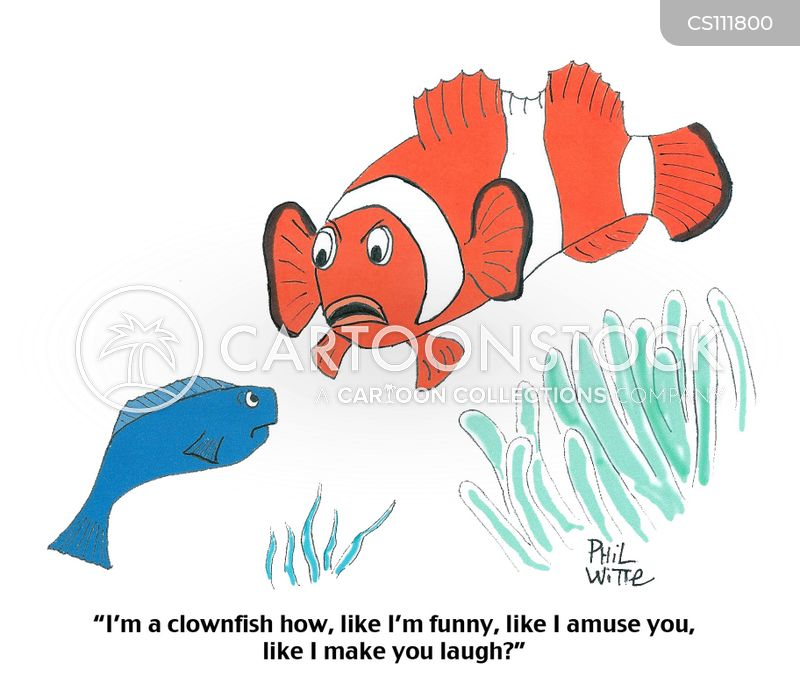 clown-fish cartoon