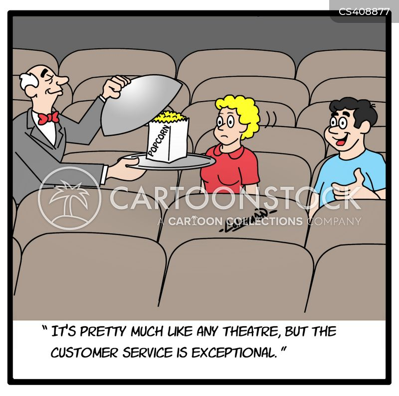 cinema experience cartoon